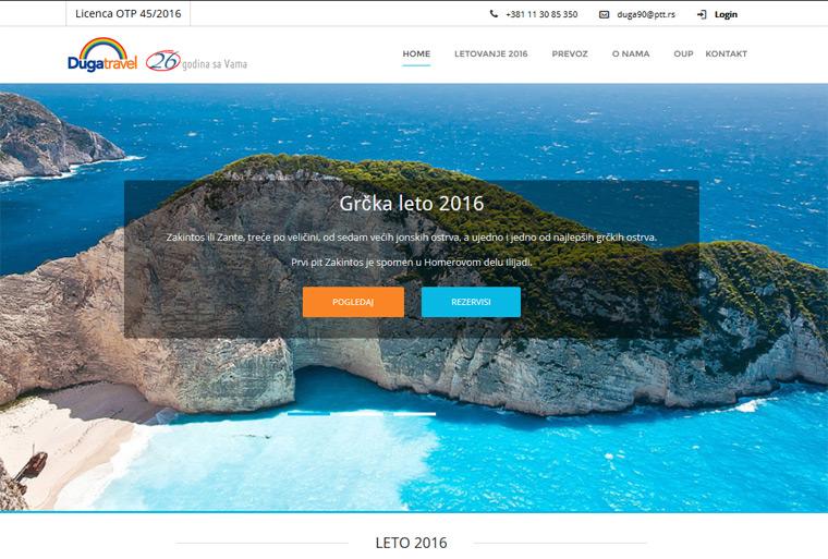 Turistička agencija - Duga Travel